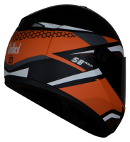 SB-39 Rox Hex Mat Black With Orange