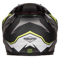 SA-1 Aviate Mat Black With Grey (Fitted With Clear Visor Extra Rainbow Chrome Visor Free)