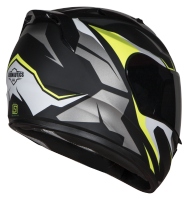 SA-1 Aviate Mat Black With Grey(Fitted With Clear Visor Extra Blue Chrome Visor Free)