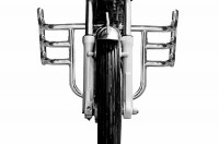 STEELBIRD STAINLESS STEEL LEG GUARD FOR ROYAL ENFIELD - AIRFLY