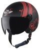 SBH-16 Hustler Mat Black With Red