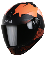 SBH-11 Zoom Trace Mat Black With Orange