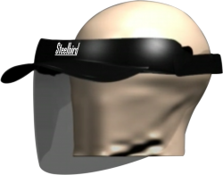 SB-17 FACE SHIELD WITH PEAK CAP (SB-17-YS-FS-PEAK)