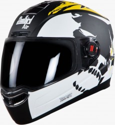 Steelbird Air Beast Glossy Black with Yellow