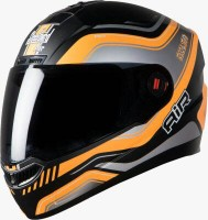 Steelbird Air Delta Glossy Black With Orange