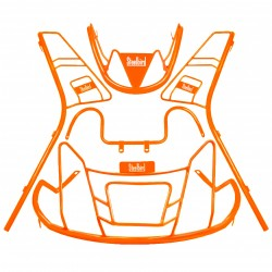 STEELBIRD COLOUR COATED GUARD KIT FOR ACTIVA 5G-ORANGE