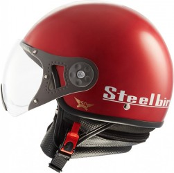 Steelbird SB-27 Style Cherry Red
