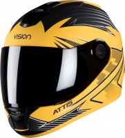Steelbird HI-GN Men Vision Decal Attis Glossy Yellow/ Black