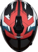 Steelbird HI-GN Men Vision Decal Hunk Matt Black/Blue
