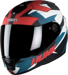 Steelbird HI-GN Men Vision Decal Hunk Glossy Black/Blue