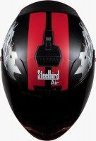 Steelbird Air Storm Matt Black With Red