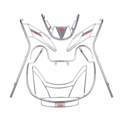 STEELBIRD STAINLESS STEEL GUARD KIT FOR ACTIVA 125