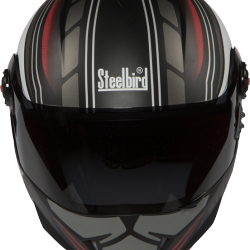 SB-41 Oscar Magnetic Glossy Black With Red