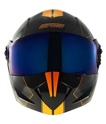 A-1 ARES RACE GLOSY BLACK 600MM PL.VISOR