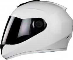 Steelbird HI-GN Men Vision Dashing White ( Fitted With Clear Visor Extra Smoke Visor Free)
