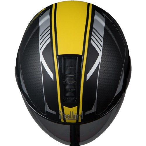 SB-33 EVE DIVINE MAT BLACK+YELLOW 580MM BL.VISOR