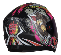 Steelbird Air Griffon Glossy Black With Red