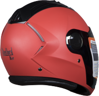 SBA-2 DASHING RED ( Fitted With Clear Visor Extra Silver Chrome Visor Free)