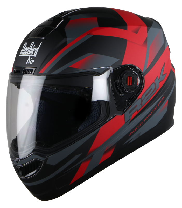 SBA-1 R2K Mat Black With Red