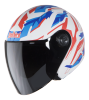 SB-43 Yo Yo Dazzle Glossy White With Red Blue
