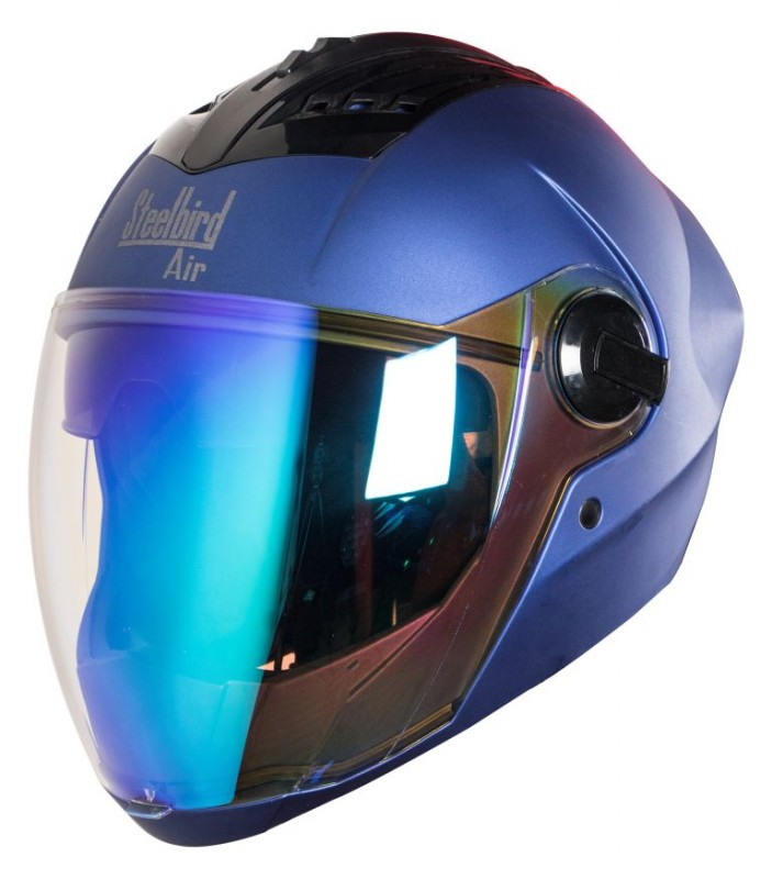 SBA-2 Double Visor Night Vision Mat Yamaha Blue