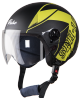 SBH-16 Pulse Beat Glossy Black With Yellow