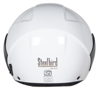 SBH-5 Vic Two Tone Glossy White With Black