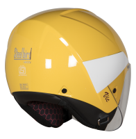 SBH-5 Vic Two Tone Glossy Yellow With White