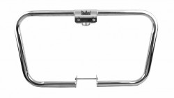 STEELBIRD STAINLESS STEEL LEG GUARD FOR ROYAL ENFIELD - TRAPEZIUM