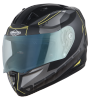 SA-1 RTW Mat Black With Yellow (Fitted With Clear Visor Extra Night Vision Blue Visor Free)