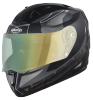 SA-1 RTW Mat Black With White (Fitted With Clear Visor Extra Night Vision Green Visor Free)