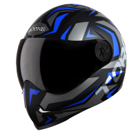 Adonis Torq Mat Black With Blue
