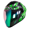 SBA-2 Marine Mat Black With Green Green Night Vision Visor