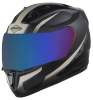 SA-1 WHIF Mat Black With Desert Storm (Fitted With Clear Visor Extra Chrome Blue Visor Free)