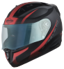 SA-1 WHIF Mat Black With Red (Fitted With Clear Visor Extra Blue Night Vision Visor Free)