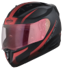 SA-1 WHIF Mat Black With Red (Fitted With Clear Visor Extra Gold Night Vision Visor Free)