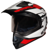 SB-42 Bang Silt Mat Black With White (Clear With Sun Shield)