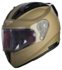 SA-1 Aeronautics Mat Desert Storm With Anti-Fog Shield Clear Visor