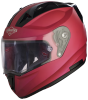 SA-1 Aeronautics Mat Hot Pink With Anti-Fog Shield Clear Visor