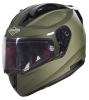 SA-1 Aeronautics Mat Battle Green With Anti-Fog Shield Photochromic Visor