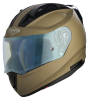 SA-1 Aeronautics Mat Desert Storm With Anti-Fog Shield Blue Night Vision Visor