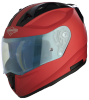 SA-1 Aeronautics Mat Sports Red With Anti-Fog Shield Blue Night Vision Visor