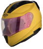 SA-1 Aeronautics Mat Moon Yellow With Anti-Fog Shield Gold Night Vision Visor