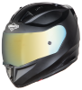 SA-1 Aeronautics Mat Axis Grey With Anti-Fog Shield Gold Chrome Visor