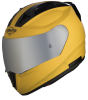 SA-1 Aeronautics Mat Moon Yellow With Anti-Fog Shield Silver Chrome Visor