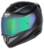 SA-1 Aeronautics Mat Axis Grey With Anti-Fog Shield Rainbow Chrome Visor