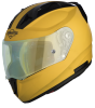 SA-1 Aeronautics Mat Moon Yellow With Anti-Fog Shield Green Night Vision Photochromic Visor