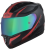 SA-1 WHIF Mat Black/Red (Fitted With Clear Visor Extra Anti-Fog Shield Chrome Rainbow Visor Free)