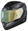 SA-1 RTW Mat Black/White With Anti-Fog Shield Green Night Vision Visor(Fitted With Clear Visor Extra Green Night Vision Anti-Fog Shield Visor Free)