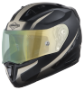 SA-1 WHIF Mat Black/Desert Storm (Fitted With Clear Visor Extra With Anti-Fog Shield Night Vision Green Visor Free)